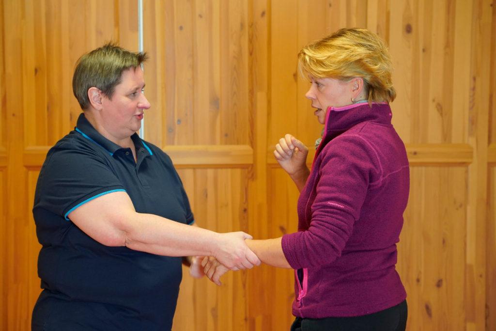 Wendo für Frauen mit Wendo-Trainerin Kathrin Bein